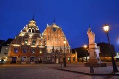 Ciudad vieja de Riga Fotos de archivo libres de regalías