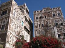 Ciudad vieja de Sana en Yemen Fotografía de archivo libre de regalías