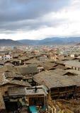 Ciudad vieja de Shangri-La en China Fotografía de archivo