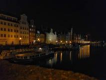"""Ciudad vieja de SK del """"de GdaÅ Foto de archivo libre de regalías"""