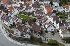 Ciudad vieja de Stavenger Foto de archivo