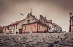 Ciudad vieja de Swiebodzice Foto de archivo libre de regalías
