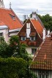 Ciudad vieja de Tallin Foto de archivo