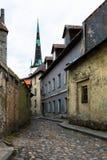 Ciudad vieja de Tallin Fotografía de archivo libre de regalías