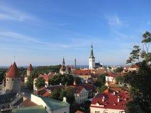 Ciudad vieja de Tallinn Fotos de archivo