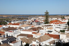 Ciudad vieja de Tavira, Portugal Fotos de archivo