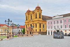 Ciudad vieja de Timisoara Foto de archivo