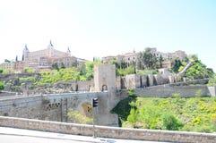 Ciudad vieja de Toledo Fotos de archivo
