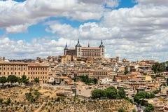 Ciudad vieja de Toledo en España Fotos de archivo libres de regalías