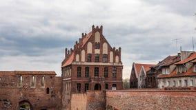 Ciudad vieja de Torun Fotos de archivo