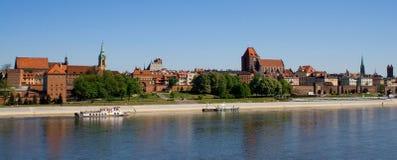 Ciudad vieja de Torun Imagen de archivo libre de regalías