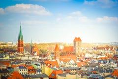 Ciudad vieja de Torun, Polonia imágenes de archivo libres de regalías