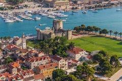 Ciudad vieja de Trogir fotos de archivo libres de regalías