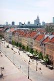 Ciudad vieja de Varsovia fotografía de archivo