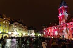 Ciudad vieja de Varsovia Foto de archivo libre de regalías