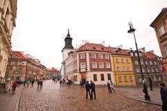 Ciudad vieja de Varsovia Imagen de archivo