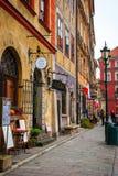 Ciudad vieja de Varsovia, Polonia Foto de archivo