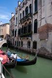 Ciudad vieja de Venecia en Italia Foto de archivo libre de regalías