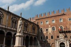 Ciudad vieja de Verona Imagen de archivo libre de regalías