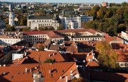 Ciudad vieja de Vilnius imágenes de archivo libres de regalías
