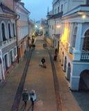 Ciudad vieja de Vilnius Foto de archivo libre de regalías