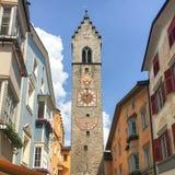 Ciudad vieja de Vipiteno Sterzing, el Tyrol del sur, Italia Fotografía de archivo