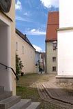 Ciudad vieja de Weiden, Alemania Imagenes de archivo