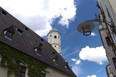 Ciudad vieja de Weiden, Alemania Foto de archivo libre de regalías