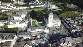 Ciudad vieja de Weilburg, Alemania almacen de metraje de vídeo