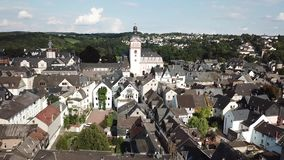 Ciudad vieja de Weilburg, Alemania almacen de video