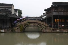 Ciudad vieja del agua de China Fotografía de archivo libre de regalías