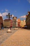Ciudad vieja del Wroclaw Fotografía de archivo libre de regalías