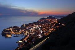 Ciudad vieja Dubrovnik Fotografía de archivo libre de regalías