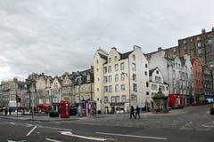 Ciudad vieja EDIMBURGO de Edimburgo - Fotografía de archivo libre de regalías