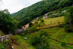 Ciudad vieja en Asturias, Taramundi Imagen de archivo libre de regalías