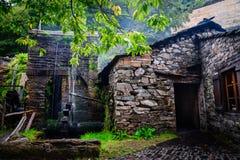 Ciudad vieja en Asturias, Taramundi Fotos de archivo libres de regalías