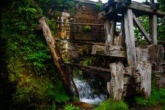 Ciudad vieja en Asturias, Taramundi Foto de archivo libre de regalías