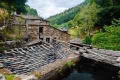 Ciudad vieja en Asturias, Taramundi Imagen de archivo
