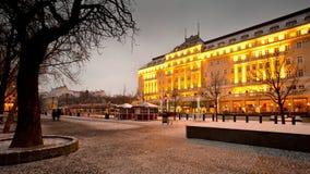 Ciudad vieja en Bratislava Fotos de archivo libres de regalías