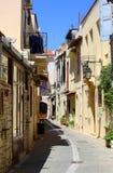 Ciudad vieja en Creta Imagen de archivo libre de regalías