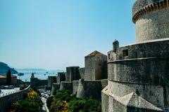 Ciudad vieja en Dubrovnik Fotografía de archivo libre de regalías