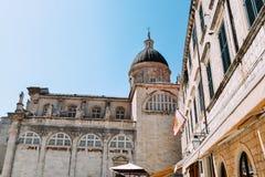 Ciudad vieja en Dubrovnik Foto de archivo