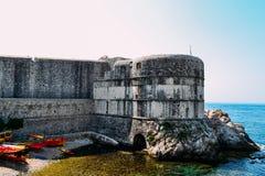 Ciudad vieja en Dubrovnik Imagen de archivo