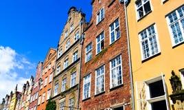 Ciudad vieja en Gdansk Fotografía de archivo libre de regalías