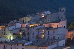 Ciudad vieja en Italia central Fotos de archivo
