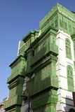 Ciudad vieja en Jedda, la Arabia Saudita conocida como ` histórico de Jedda del ` Edificios y caminos viejos y de la herencia en  fotografía de archivo