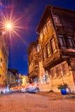 Ciudad vieja en la noche Estambul imagen de archivo libre de regalías