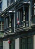 Ciudad vieja en Lima, Perú imagen de archivo libre de regalías