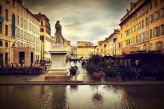 Ciudad vieja en Marsella, Francia. Foto de archivo