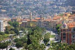 Ciudad vieja en Niza, Francia Foto de archivo